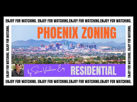 Phoenix R1-6 Residential Zoning District explained