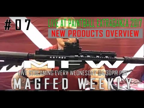 MFW: Live At Paintball Extraganza 2017 New Products Overview