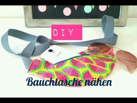 DIY Gurttasche/Bauchtasche selber nähen