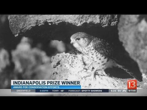 Indianapolis Prize winner: Carl Jones