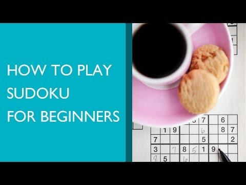 How to Play Sudoku for Beginners