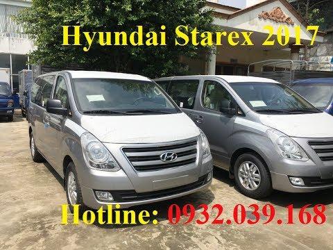 Xe Hyundai Starex 9 ch 2017 m y du m u ghi bc Starex 2017