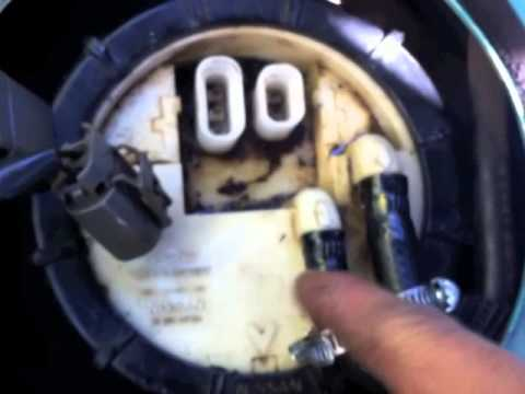 Nissan Micra K11 Fuel Pump Replacement YouTube