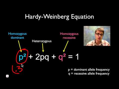 Solving Hardy Weinberg Problems
