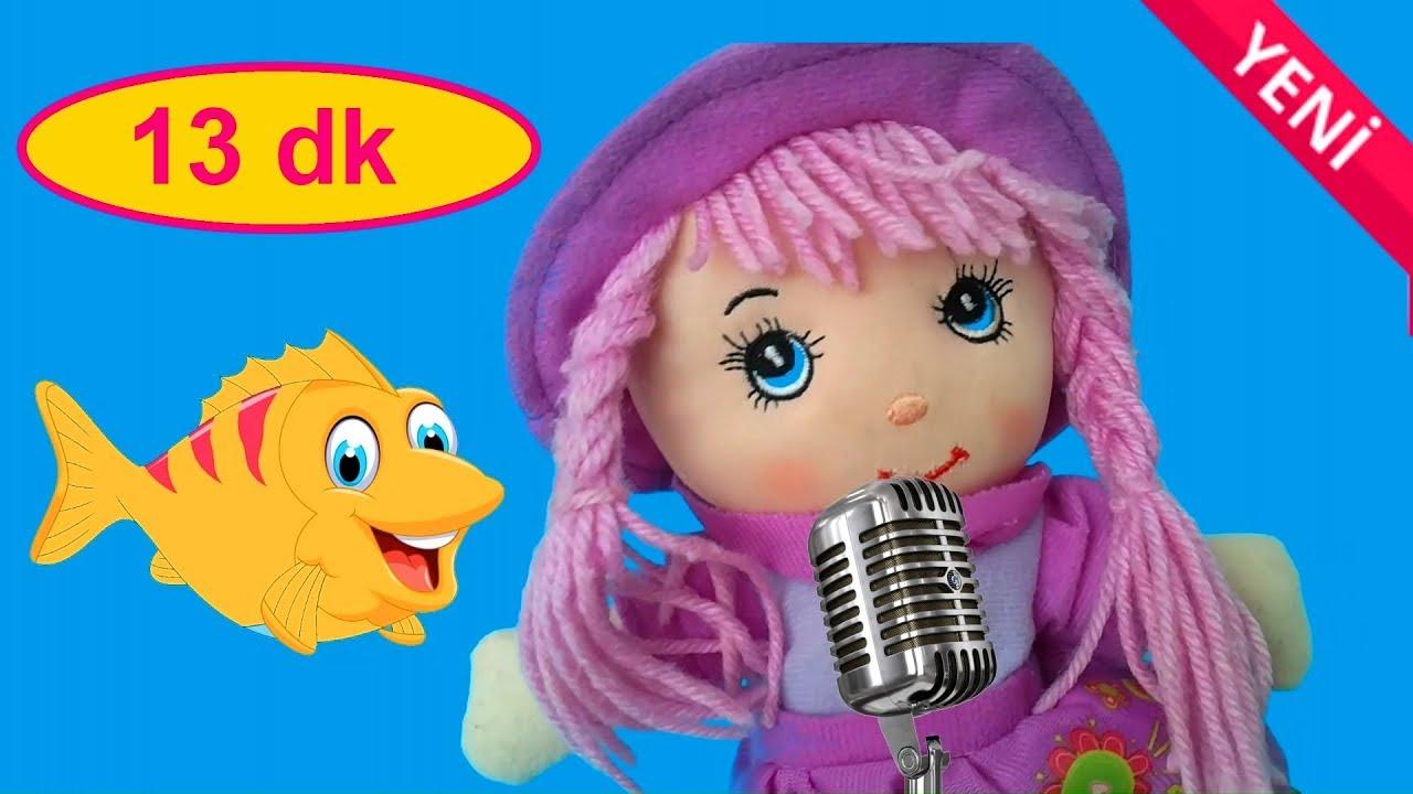 KIRMIZI BALIK DERLEME 2019 - 13 Dakika Çocuk Şarkısı