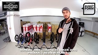 Sunday Bikes 2015 kids & beginner BMX bikes review | with english subtitles