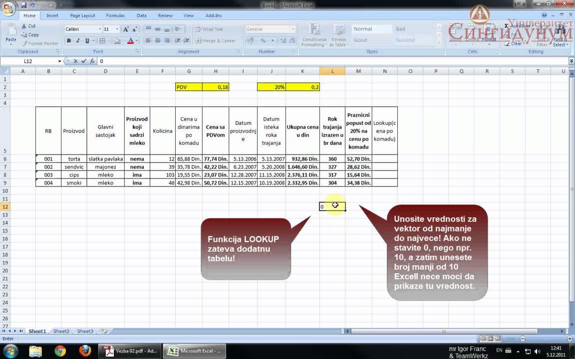 Excel 2010 Tutorial - YouTube