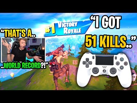 This CONTROLLER Player Got 51 KILLS In His Highest Kill Game In Fortnite... (he's GOATED!)