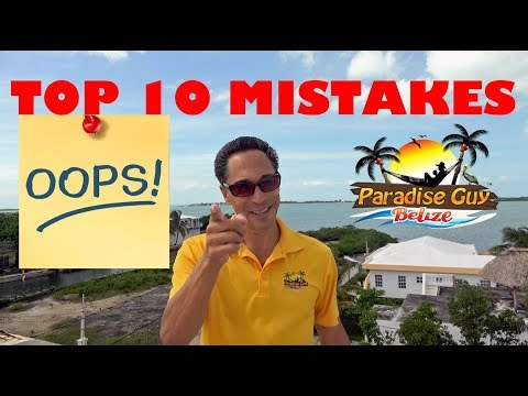 Top 10 MISTAKES People Make When They Travel to Belize