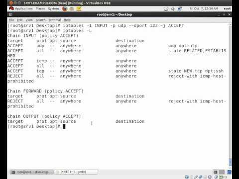 How to setup a NTP server on RHEL 6