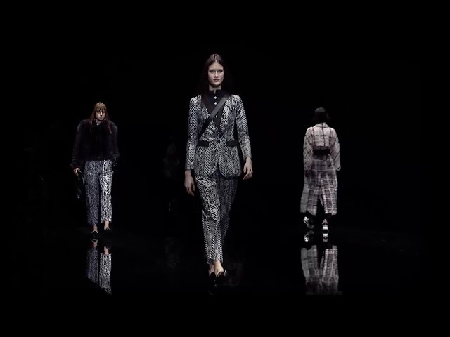 Emporio Armani - 2017/2018 Fall Winter Women's Fashion Show