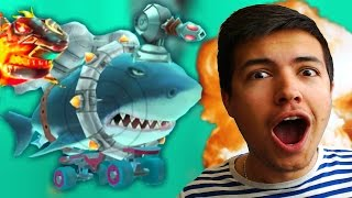 SHARK VORTEX GADGET + NEW HIGH SCORE! | Hungry Shark Evolution