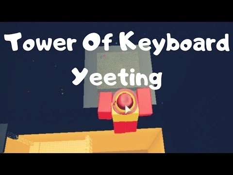 Roblox Jtoh Tower Of Keyboard Yeeting Completed Youtube