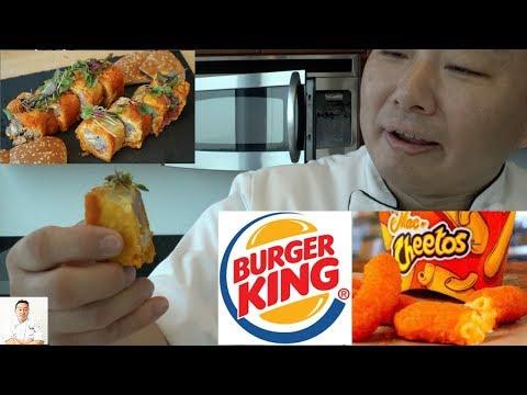 Will It Sushi? - Mac Whopper Cheetos Roll