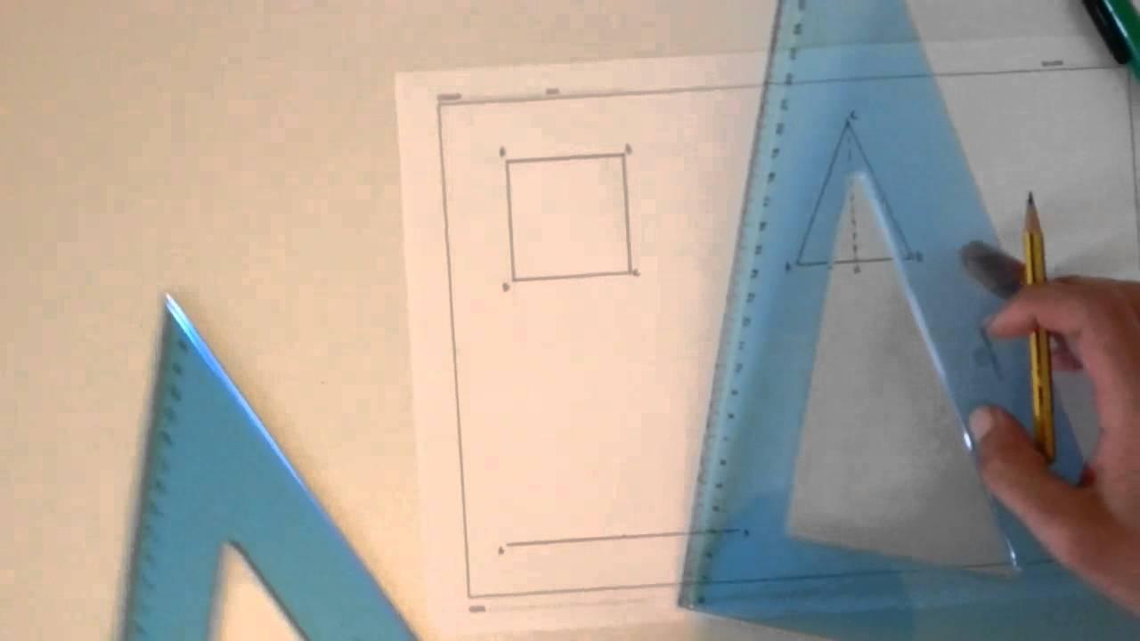 02 costruzione di un quadrato di un triangolo di un for Ottenere un prestito di costruzione