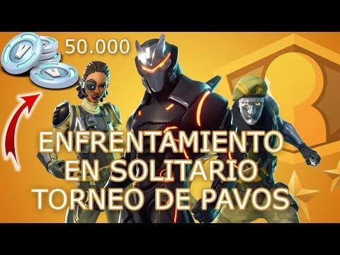 🔴 Enfrentamiento en Solitario ▷ Torneo de 50.000 Pavos ✔️ Fortnite Battle Royale (MTL)
