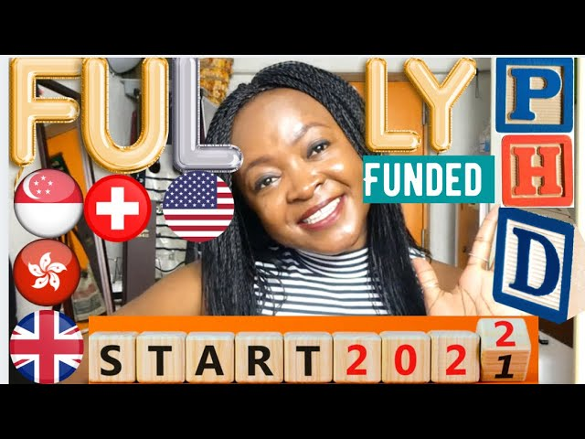 [NEW VIDEO) 5 Fully Funded Ph.D. Scholarships For International Students in 2022~2023