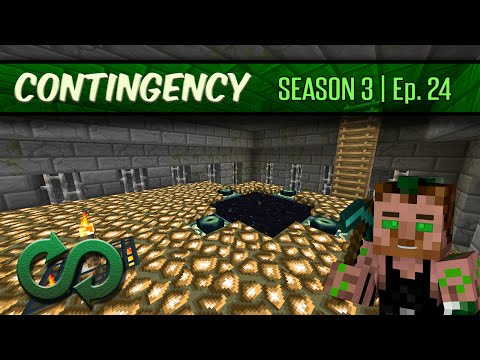 Contingency S3E24 - Ghast Busters, Crosshair End Portal, and New People!!!
