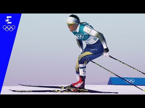 Cross-Country Skiing | Ladies' 7.5km + 7.5km Skiathlon Highlights | Pyeongchang 2018 | Eurosport