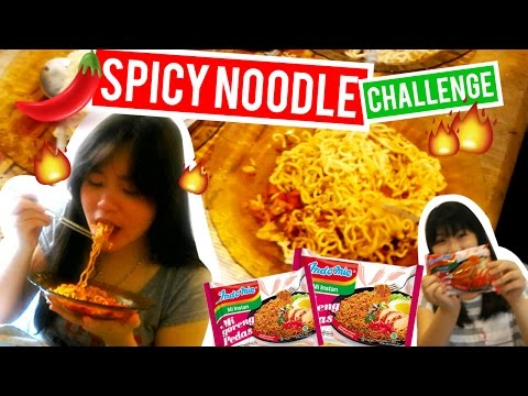 SPICY NOODLE CHALLENGE by Chef Irene | Michelle Joanna
