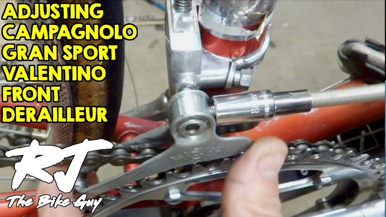 How To Adjust Campagnolo Gran Sport Valentino Front