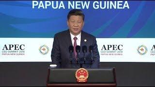 Xi Stresses Diversity, Inclusiveness in International Affairs at APEC CEO Summit
