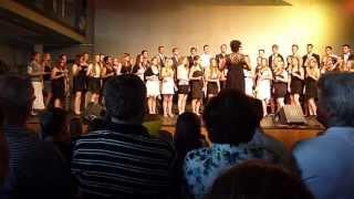 "Großer Chor des Graf-Rasso-Gymnasiums Sommerkonzert 2013 ""Hit the Road Jack"""