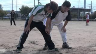 111023 グランドソフトボール 練習