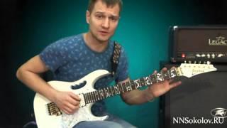 Уроки игры на гитаре   Guitar Lick №8 обыгрывание ми минор