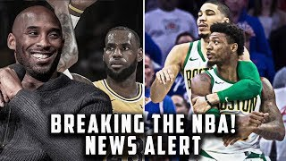 Kobe Gives Lebron Huge Advice! Marcus Smart Nearly Starts Brawl! | Breaking The NBA News Alert