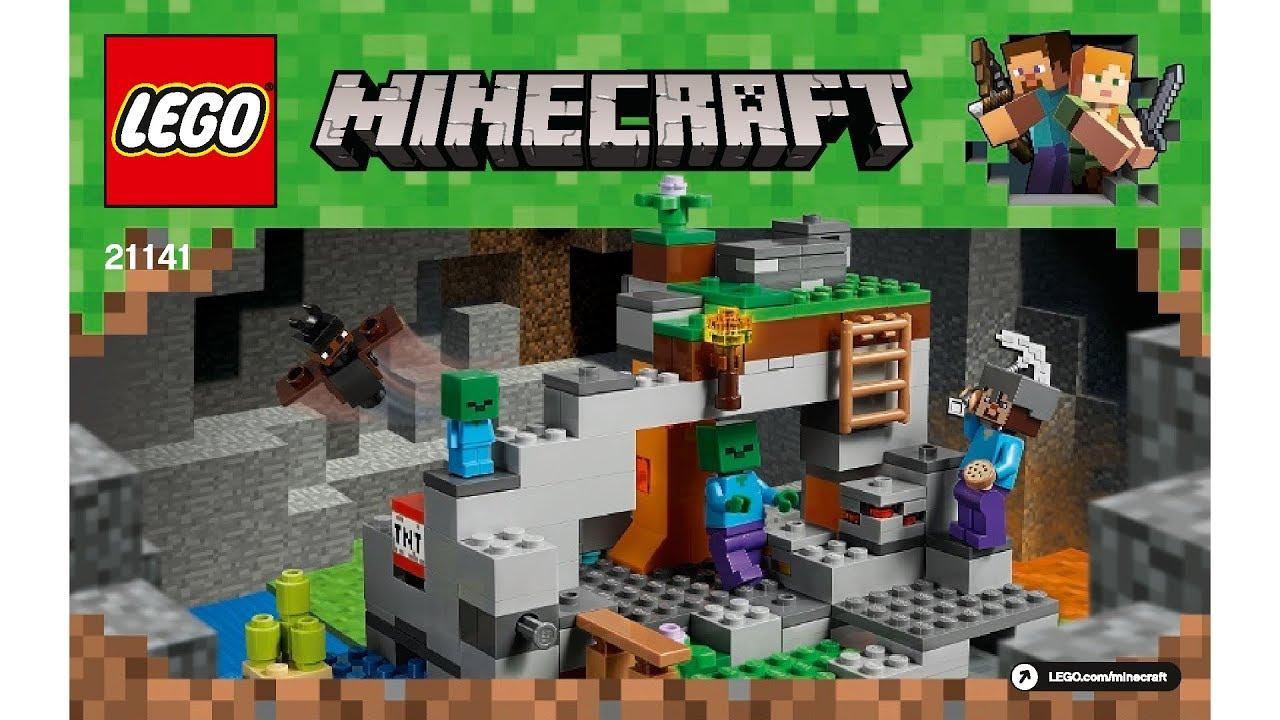 how to make a lego minecraft zombie