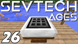 Minecraft - LUMINOUS CRAFTING TABLE and AGE 2 | Minecraft Sevtech: Ages Ep  26