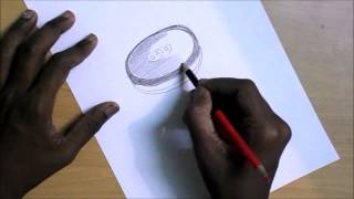 Drawing a Oreo Biscuit.