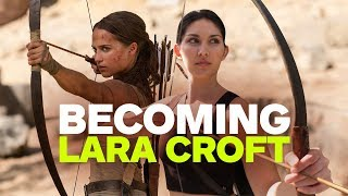 Becoming Lara Croft: Tomb Raider Movie Stunt Training School
