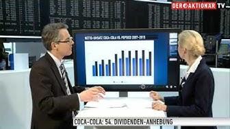 Coca-Cola: 54. Dividenden-Anhebung - darauf ein Zuckerwasser!