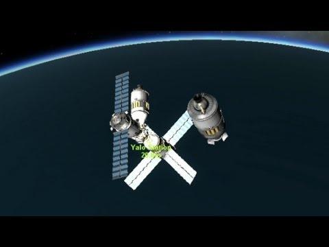 How to Dock in KSP (Kerbal Space Program)