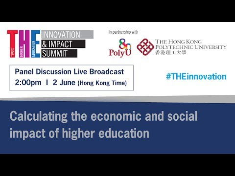 THE Innovation and Impact Summit - Calculating the economic and social impact of higher education