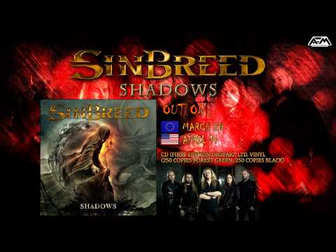 SINBREED - Shadows (2014) // LYRIC video // AFM Records