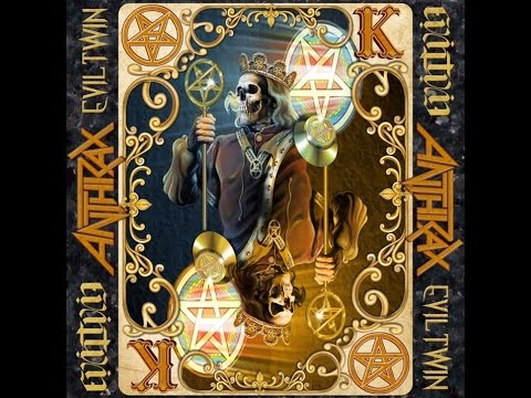 ANTHRAX - Evil Twin (Lyric video)
