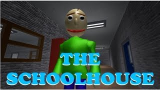 ROBLOX Xbox One: Baldi's Basics in Education and Learning (The Schoolhouse) | No Commentary