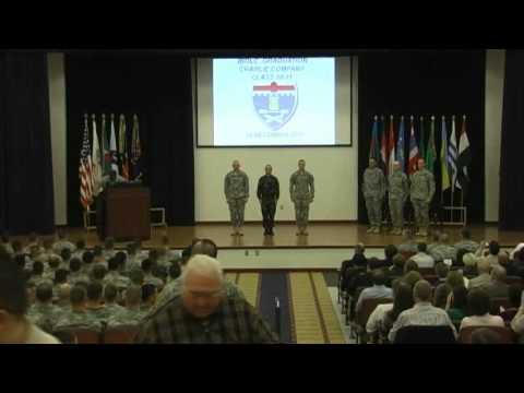 Fort Benning IBOLC Graduation Ceremony
