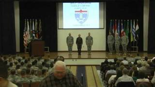 Fort Benning IBOLC Graduation Ceremony