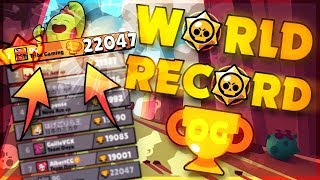 WORLD RECORD 22,000 TROPHIES IN BRAWL STARS!