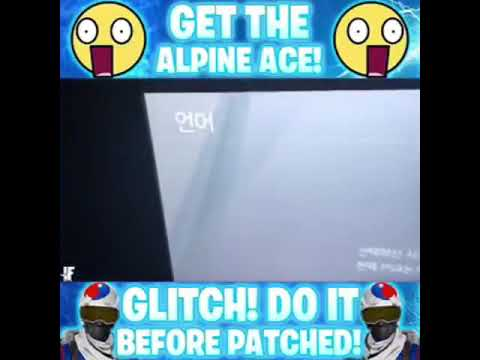 How To Get The Korean Alpine Ace Skin For Free Rule Will Be In The Description.#FearChronic