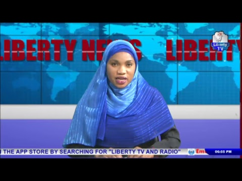 Liberty World News @6pm 25th August, 2017