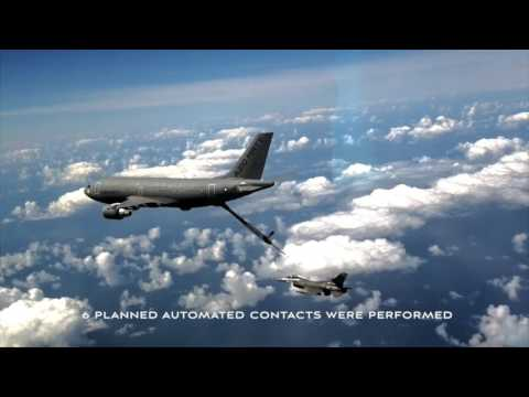 Airbus Achieves Automatic Air-to-Air Refuelling Contact