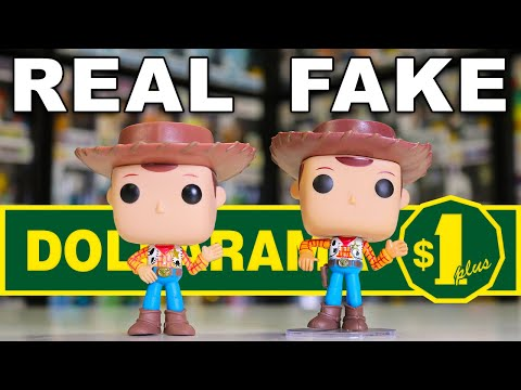 Fake Funko Pops Found At The Dollar Store!