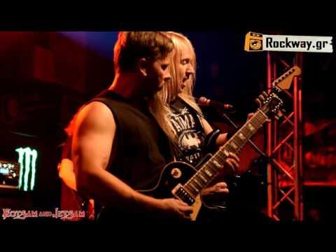 FLOTSAM & JETSAM live@ Kyttaro club/Athens (20/10/16) Overview_Rockway.gr HQ