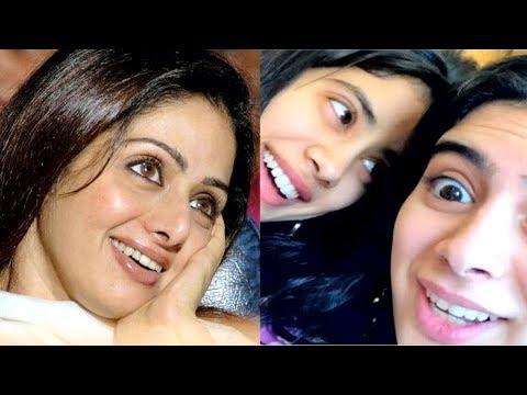 Sridevi Daughter Jhanvi Kapoor's CUTE VIDEO Wishing Sister Khushi Kapoor On Her 19th Birthday Mp3