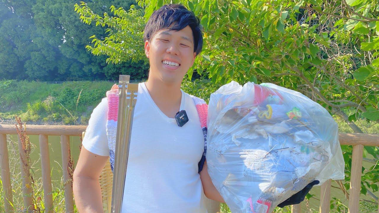 愛する自然と野生動物の為にゴミ拾いをして来ました